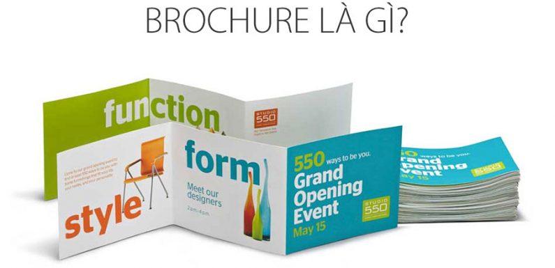 Brochure là gì? Điểm khác biệt của brochure so với các ấn phẩm quảng cáo khác
