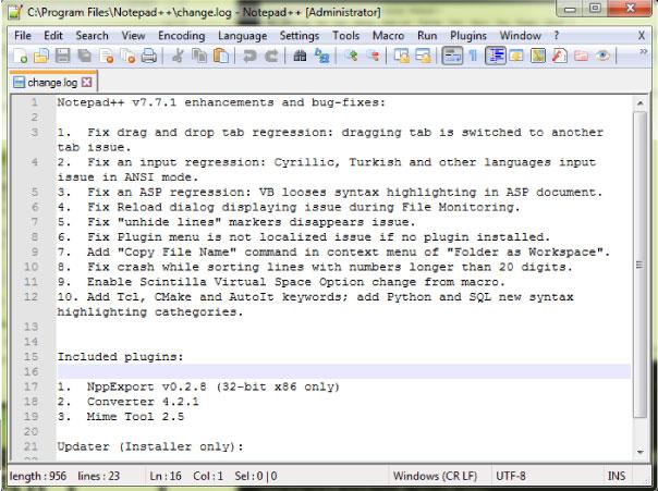 notepad++-code