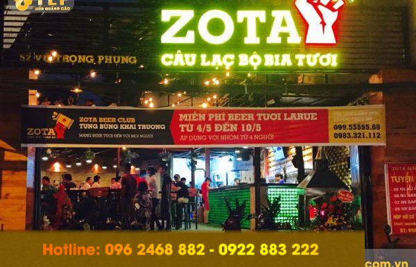 Làm biển quảng cáo giá rẻ, chất lượng nhất tại Thanh Xuân