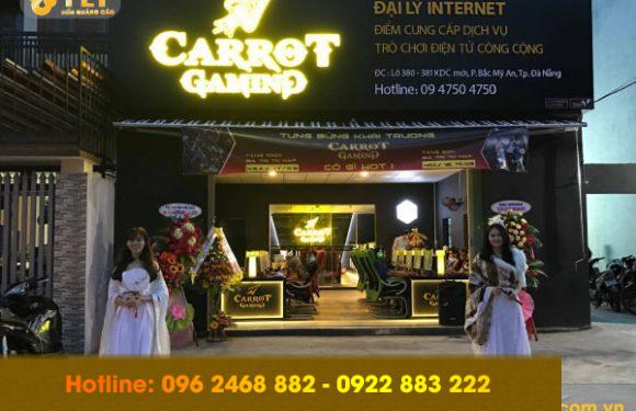 Địa chỉ làm biển quảng cáo quán net uy tín tại Hà Nội