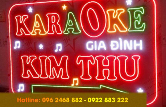 99 mẫu biển quảng cáo quán karaoke độc đáo, sang trọng nhất hiện nay